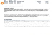 Reading Your Credit Card Statement | Anz pertaining to Credit Card Statement Template
