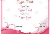 Relationships Certificates – Romance Love Certificate throughout Love Certificate Templates