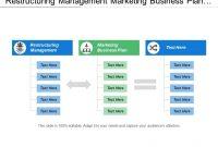 Restructuring Management Marketing Business Plan Target for Business Reorganization Plan Template