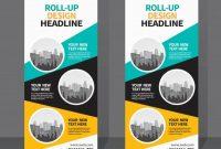 Roll Up Banner Design Template | Banner Design Inspiration for Pop Up Banner Design Template
