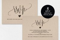 Rsvp Postcard, Rsvp Template, Wedding Rsvp Cards, Wedding Rsvp Postcards,  Rsvp Cards, Rsvp Online, Pdf Instant Download #bpb203_1_1 inside Template For Rsvp Cards For Wedding
