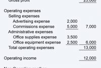 Sample Balance Sheet And Income Statement For Small Business With Regard To Financial Statement For Small Business Template