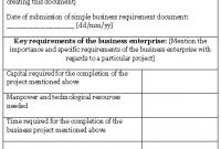 Sample Business Requirement Document Template ] – 11 Awesome throughout Business Requirement Document Template Simple