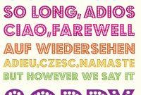 "Saskya Falope On Twitter: ""sad To Say Goodbye To Two inside Good Luck Banner Template"