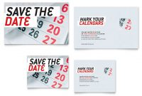 Save The Date Note Card Template Design inside Save The Date Business Event Templates
