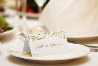Seating / Place Card Template – Download Instantly with regard to Fold Over Place Card Template