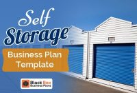 Self Storage Business Plan Template – Black Box Business for Self Storage Business Plan Template