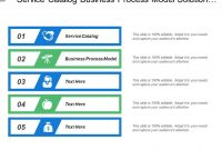 Service Catalog Business Process Model Solution Prototype for Business Process Catalogue Template