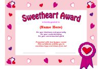Share The Love: Ms Office Templates And Printables For pertaining to Love Certificate Templates