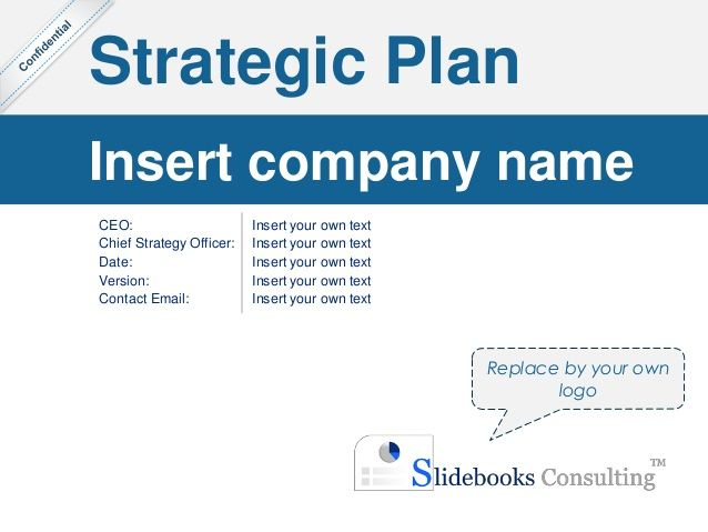 Simple Strategic Plan Template |Ex-Mckinsey Consultants intended for Mckinsey Business Case Template