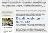 Small Business Email Marketing Template intended for Business Promotion Email Template