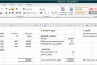 Small Business Loan Calculator | Double Entry Bookkeeping with regard to Accounting Spreadsheet Templates For Small Business