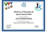 Sports Certificate Template For Ms Word | Document Hub with Sports Award Certificate Template Word