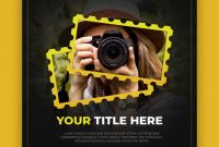 Square Banner Template For Photographer | Premium Psd File within Photography Banner Template