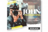 Square Banner Template Or Flyer For Photographers Or within Photography Banner Template
