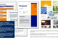 Standard Of Living Improvement Proposal Template regarding Business Improvement Proposal Template