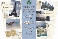 "Starbucks ""Create Your Own Tumbler"" Blank Template throughout Starbucks Create Your Own Tumbler Blank Template"