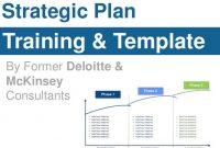 Strategic Plan Training & Templateformer Deloitte inside Mckinsey Business Case Template