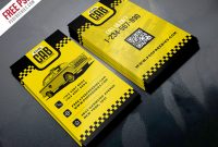 Taxi Cab Service Business Card Template Psd – Uxfree Throughout Transport Business Cards Templates Free