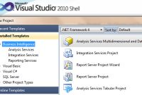 The Evolution Of Sql Server Data Tools (Ssdt) For Business within Business Intelligence Templates For Visual Studio 2010