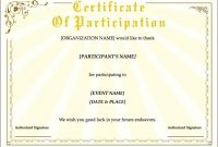 Training Certificate Template For Pages   Free Iwork Templates intended for Certificate Template For Pages