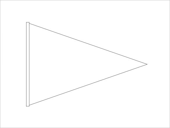 Triangle Banner Template Free – Clipart Best Within Free Triangle Banner Template