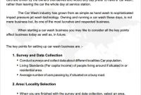 Truck Wash Business Plan Template inside Business Plan Template For Transport Company