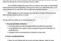 Truck Wash Business Plan Template regarding Petrol Station Business Plan Template