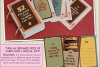 """Turn An Old Deck Of Cards Into A Fun """"52 Things I Love About for 52 Things I Love About You Deck Of Cards Template"""