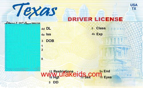 Tx Fake Id Template | Id Card Template, Drivers License for Texas Id Card Template