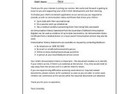 Vaccination Letter Template For New Enrolments – Aussie with regard to Certificate Of Vaccination Template