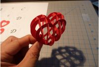 Valentine's Day Pop Up Card: 3D Heart Tutorial – Creative with regard to 3D Heart Pop Up Card Template Pdf