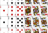 Vectorized-Playing-Cards – Poker Sized Playing Cards In in Template For Playing Cards Printable