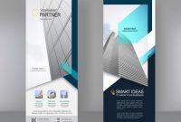Vertikales Banner Stand Template Design | Premium-Vektor with regard to Banner Stand Design Templates