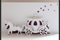 Walt Disney Cinderella Carriage Pop-Up Card Free Paper Craft intended for Templates For Pop Up Cards Free
