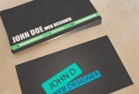 Web Design Business Card | Unique Business Cards | Business inside Web Design Business Cards Templates