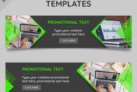 Website Banner Templates | Free Vector throughout Website Banner Templates Free Download