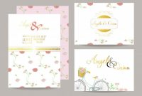 Wedding Template Collection For Banners,flyers,placards With throughout Bride To Be Banner Template