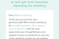 Wedding Thank You Note Template – Thank You Note Template throughout Template For Wedding Thank You Cards