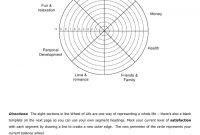 Wheel Of Life Template Download Printable Pdf | Templateroller regarding Wheel Of Life Template Blank