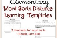 Word Sort Template Worksheets & Teaching Resources | Tpt throughout Words Their Way Blank Sort Template
