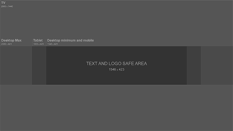 Youtube Banner Size - Template And Guideline 2020 | Fundo throughout Youtube Banners Template