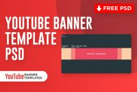 Youtube Banner Template Psd (Free Download) – 2020 intended for Gimp Youtube Banner Template
