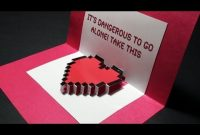 Zelda Pop Up: Valentine's Day Heart Card | Free Template – Sunderorigami! inside Heart Pop Up Card Template Free